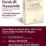 """Gesù di Nazareth: una presentazione """"ecumenica"""" per il nuovo libro del papa"""