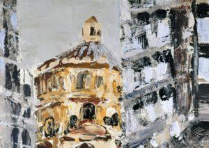 Basilica della Passione da via Mascagni