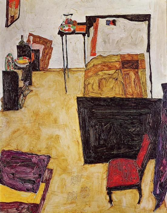 Schiele e Van Gogh, camere da letto a confronto ...