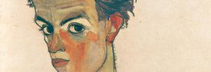 Egon-Schiele-ritratto dettaglio