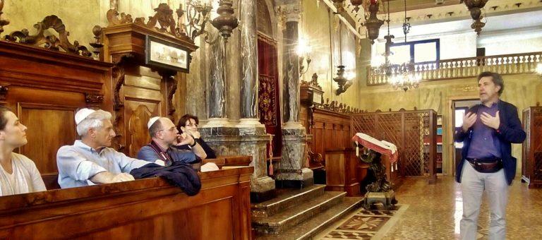 La visita dell'Associazione culturale Antonio Rosmini alla sinagoga di Padova