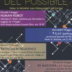 HUMAN ROBOT - Giovedì 3 Maggio ore 18.00 - Aula Magna Luzzato Dina